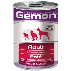 Консервы для собак Gemon Dog паштет говяжий рубец