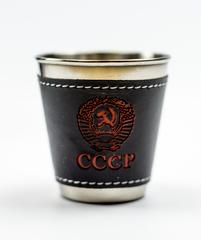 Подарочный набор стопок в чехле СССР, фото 2