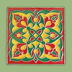 Плитка Каф'декоръ 10*10см., арт.035