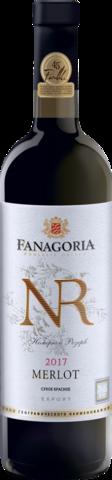 Мерло Фанагории вино. Номерной резерв, геогр.наименование сух.красн.0,75л