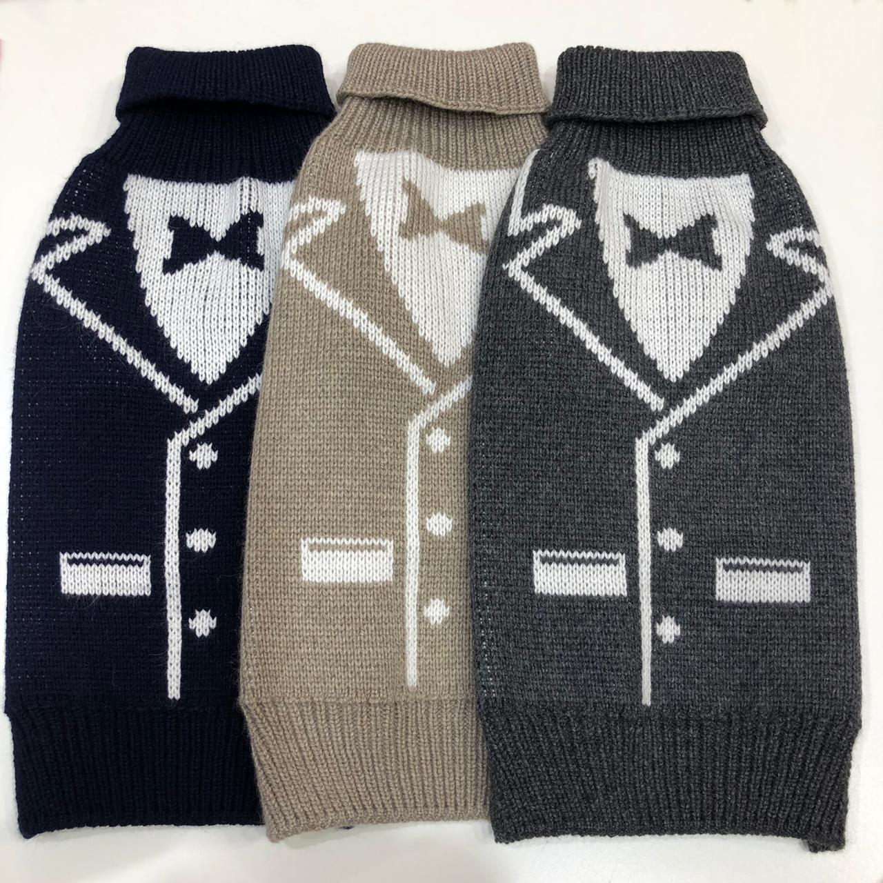 свитер фрак для собак