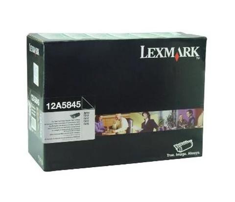 Оригинальный картридж Lexmark 12A5845 черный