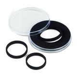 CAPSXL62  Капсула для больших монет или медалей XL с наборной вставкой и возможностью менять внутренний диаметр от 21 до 62 mm