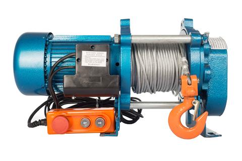 Лебедка TOR ЛЭК-500 E21 (KCD) 500 кг, 220 В с канатом 100 м, шт