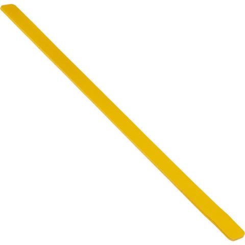 Полоса противоскользящая Мельхозе 50 мм х 1000 мм желтая (артикул производителя M1SV100502, 10 штук в упаковке)