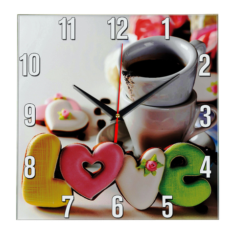 Часы настенные/ Часы кухонные ЧЗ ИДЕАЛ