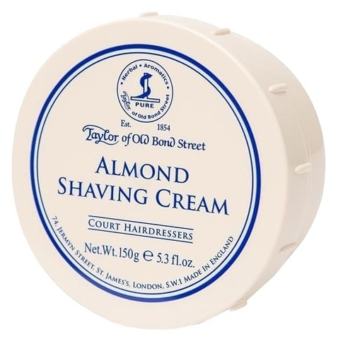 Мыло для бритья Taylor of Old Bond Street Almond 150 гр