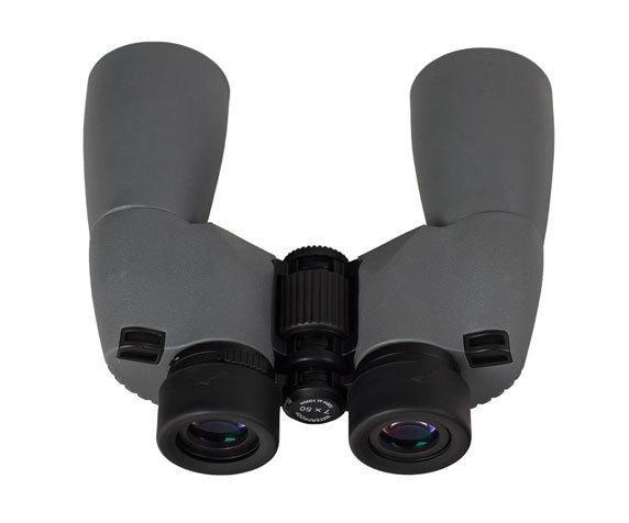 Окуляры с резиновыми наглазниками Sherman Plus 7x50