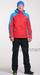Ветрозащитный спортивный костюм Nordski National Red-Black мужской