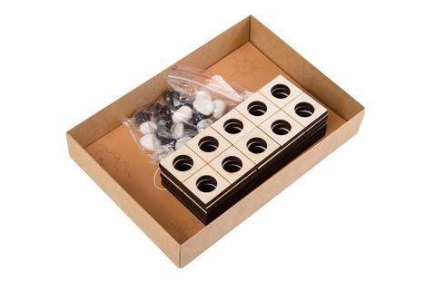 Набор Сокровища Пирата N8 Математический набор с камнями для счета