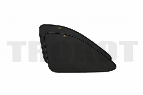 Комплект экранов на задние форточки (второй ряд)