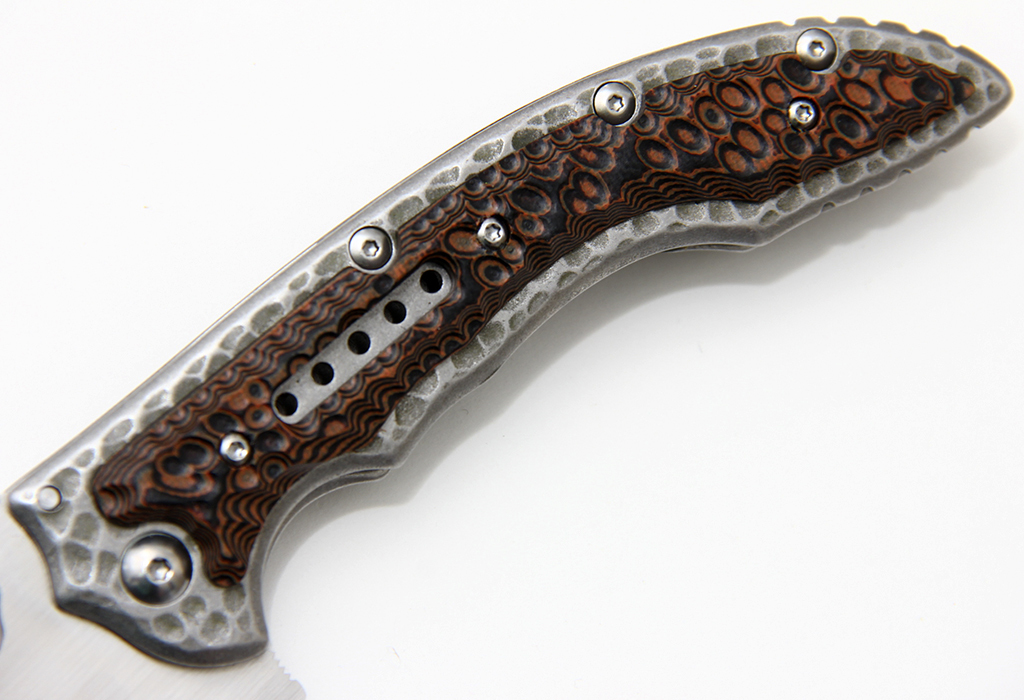 Нож CRKT Ikoma Fossil 5470 - фотография