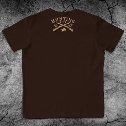 Купить хлопковую футболку Hunt для пауэрлифтинга, для зала, фитнеса, стиль жизни вид со спины