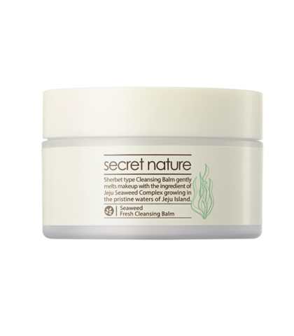 Очищающий бальзам для снятия макияжа с водорослями - Secret Nature Seaweed Fresh Cleansing Balm