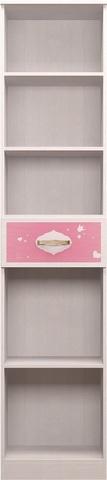 Шкаф-пенал для белья Принцесса 15 Ижмебель лиственница сибио
