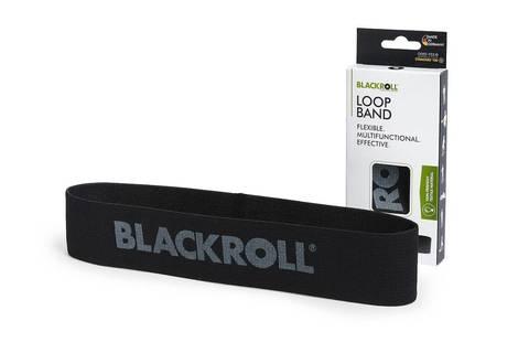 Мини-эспандер текстильный BLACKROLL® LOOP BAND 30 см (сверхтяжелое сопротивление)