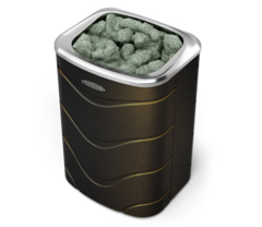Электрокаменка Примавольта, 6кВт, черная бронза