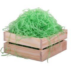 Бумажный наполнитель тишью жатый 0,3 мм 65г светло-зеленый