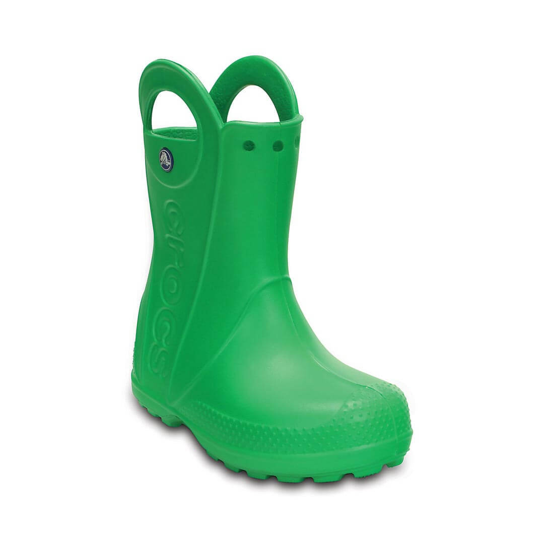 Детские сапоги Crocs Handle It Rain Boot Grass Green