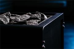 SENTIO BY HARVIA Электрическая печь Concept R Black, 12.0 кВт