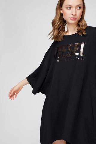 Женское черное платье D-EXTRA Diesel