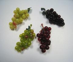 Виноград искусственный, 7 см, 16 ягод.