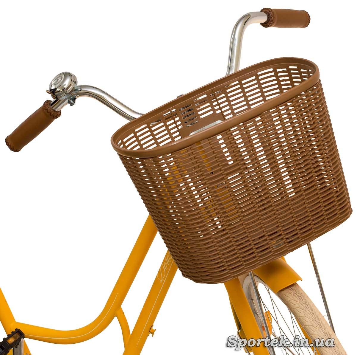 Кошик міського велосипеда Dorozhnik Retro 2016