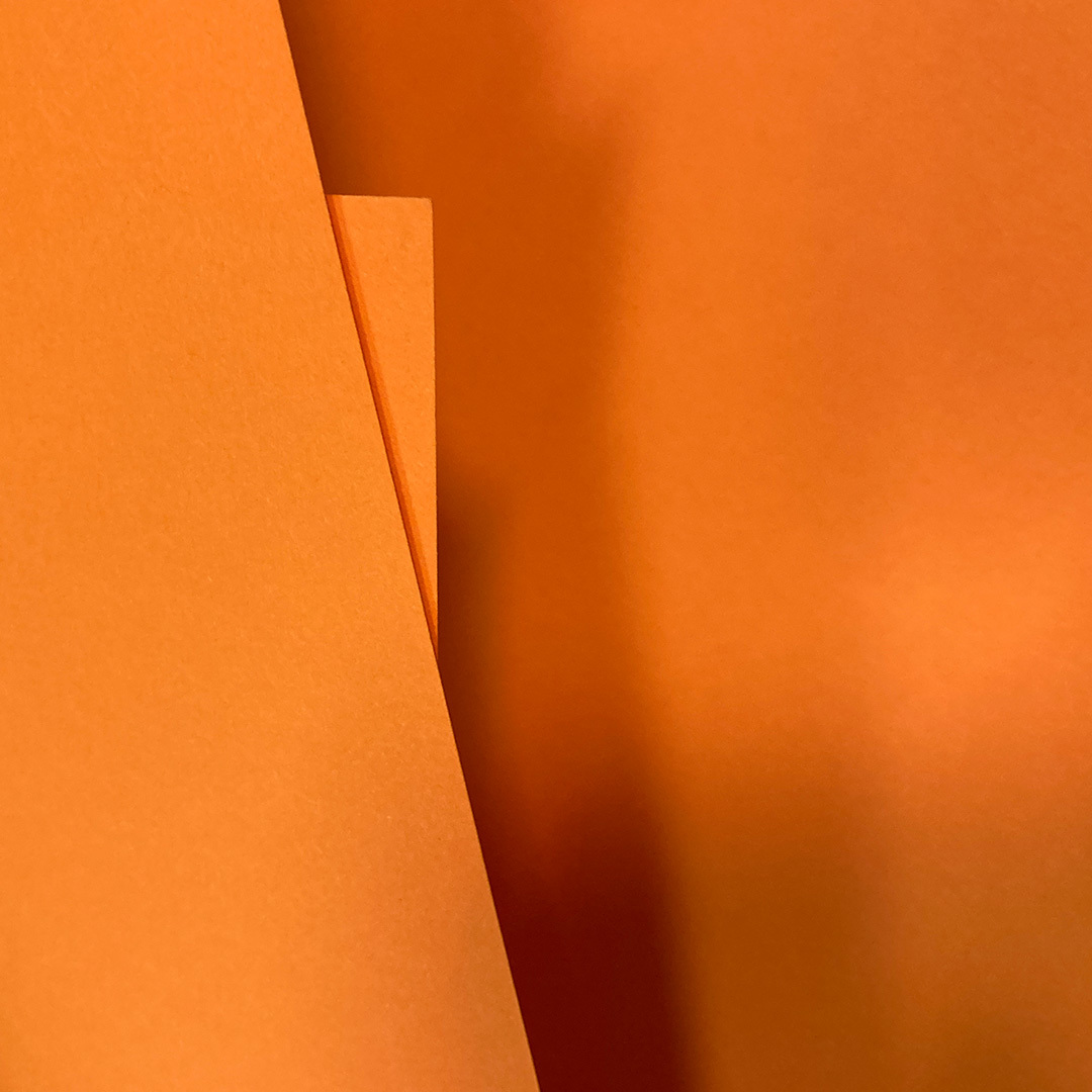 Кардсток оранжевый, 135 гр
