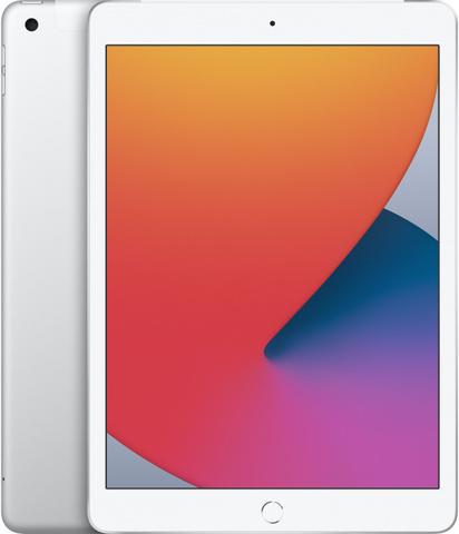 Планшет Apple iPad 10.2 Wi-Fi + Cellular 128Gb 2020 (Серебристый)