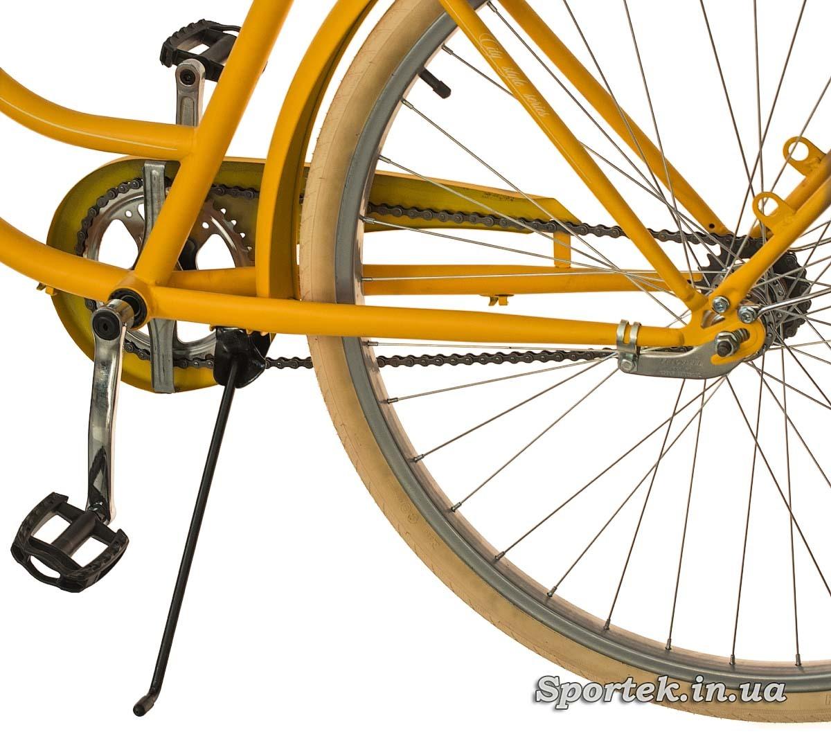 Підніжка міського велосипеда Dorozhnik Retro 2016