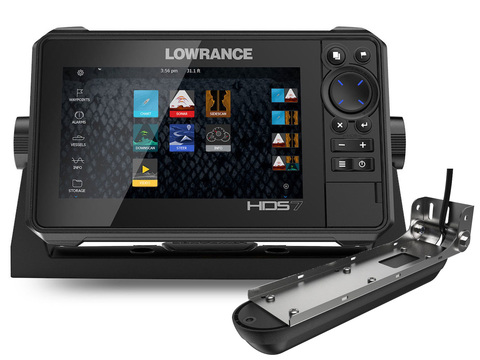 Lowrance HDS-7 LIVE с датчиком Active Imaging 3-in-1