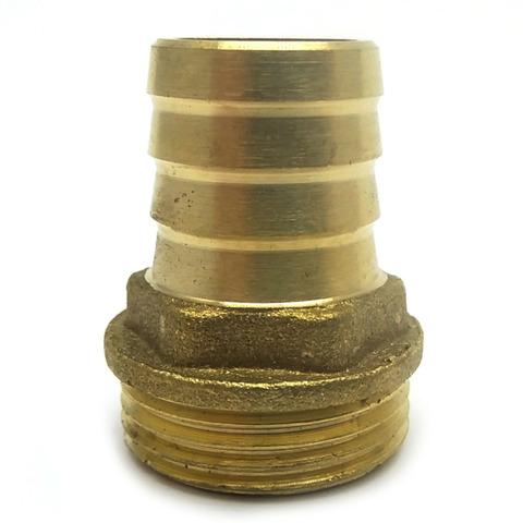 Штуцер  латунный 3/4 Н 10 мм.