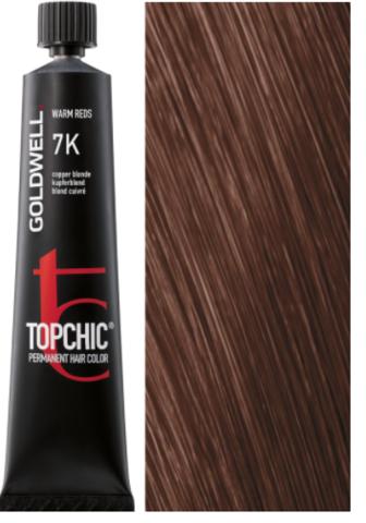 Goldwell Topchic 7K медный блондин TC 60ml