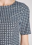 Платье из хлопка и полиамида D'EXTERIOR