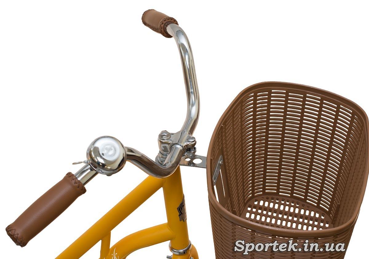 Кермо міського велосипеда Dorozhnik Retro 2016
