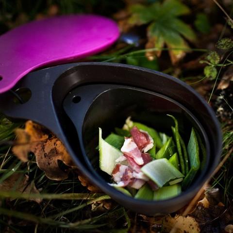 Картинка набор посуды Primus Field Cup Set фиолетовый - 3