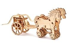Деревянные конструкторы Wooden City. Модель колесница Да Винчи