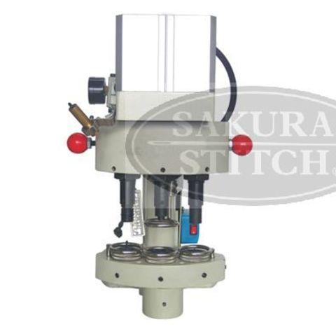 Пресс пневматический для установки фурнитуры Sakura-stitch S-QQ03 | Soliy.com.ua