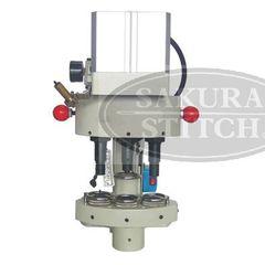 Фото: Пресс пневматический для установки фурнитуры Sakura-stitch S-QQ03