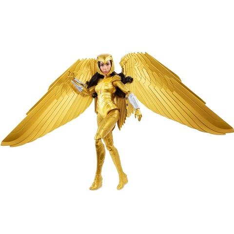 Чудо-Женщина 1984 Кукла в Золотой Светящейся Броне