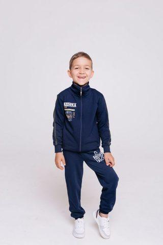 Бомбер (пуловер) для мальчика (98-116), Batik