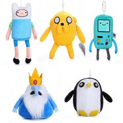 Время приключений набор мягких игрушек главные герои