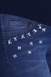 Джинсы для беременных (SLIM) 09563 синий