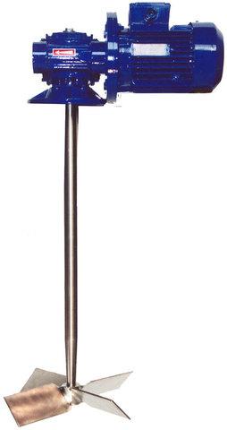 Смеситель-мешалка ПВХ 380, 600мм, 1400 об/мин. (бак 100л)