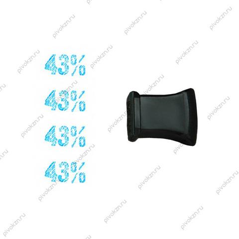 "Штамп для этикеток ""43%"""