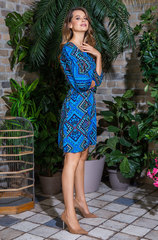Летнее платье Mia-Mia вискоза