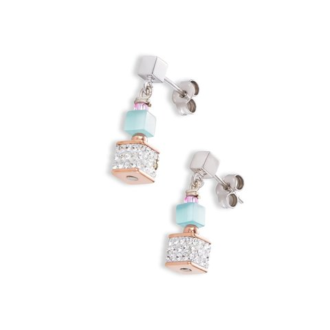 Серьги Multicolour Couture 2 4963/21-1575 цвет голубой