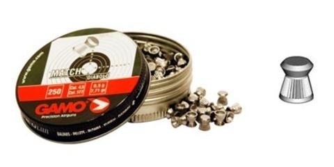 Пули для пневматики Gamo Match, 4,5 мм. (500 шт.)