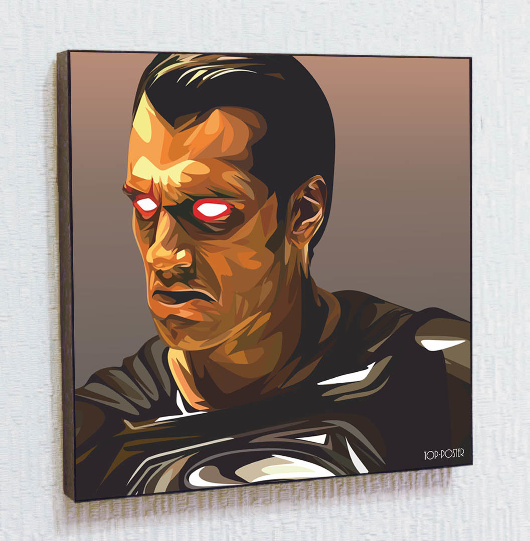 Супермен постер ПОП-АРТ картина портрет
