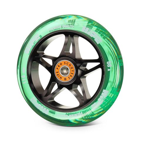 колесо HIPE Star зеленое 110 мм купить